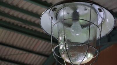 チェコスロバキア製ヴィンテージランプ